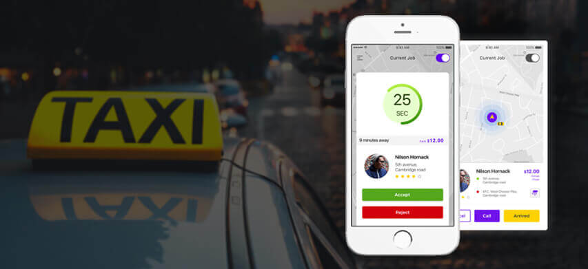 Taxi Dispatch Application
